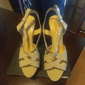 Guess. Heels